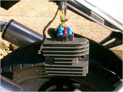 Firestorm / SuperHawk (VTR1000F) Regulator Rectifier Modification