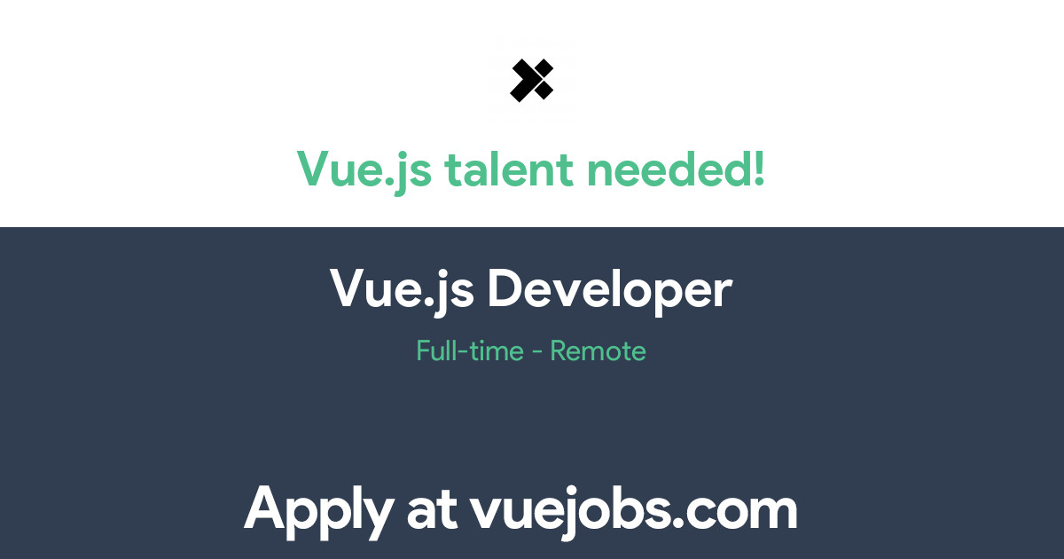 Vuejs Developer - Vuejs Jobs - Developer