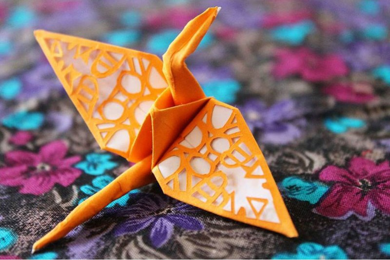 Beautiful Paper Folding Cranes By Origami Enthusiast