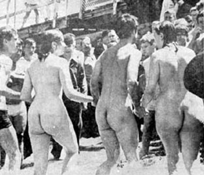 naked indian captives