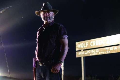 Wolf Creek.Episode 2.John Jarratt as Mick Taylor