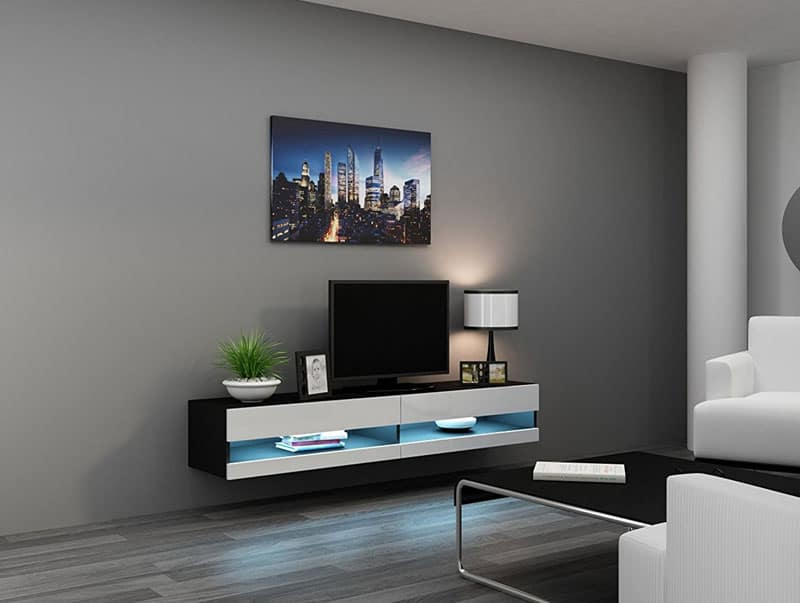 Floating Tv Stand Modern Floating Tv Units – Vurni