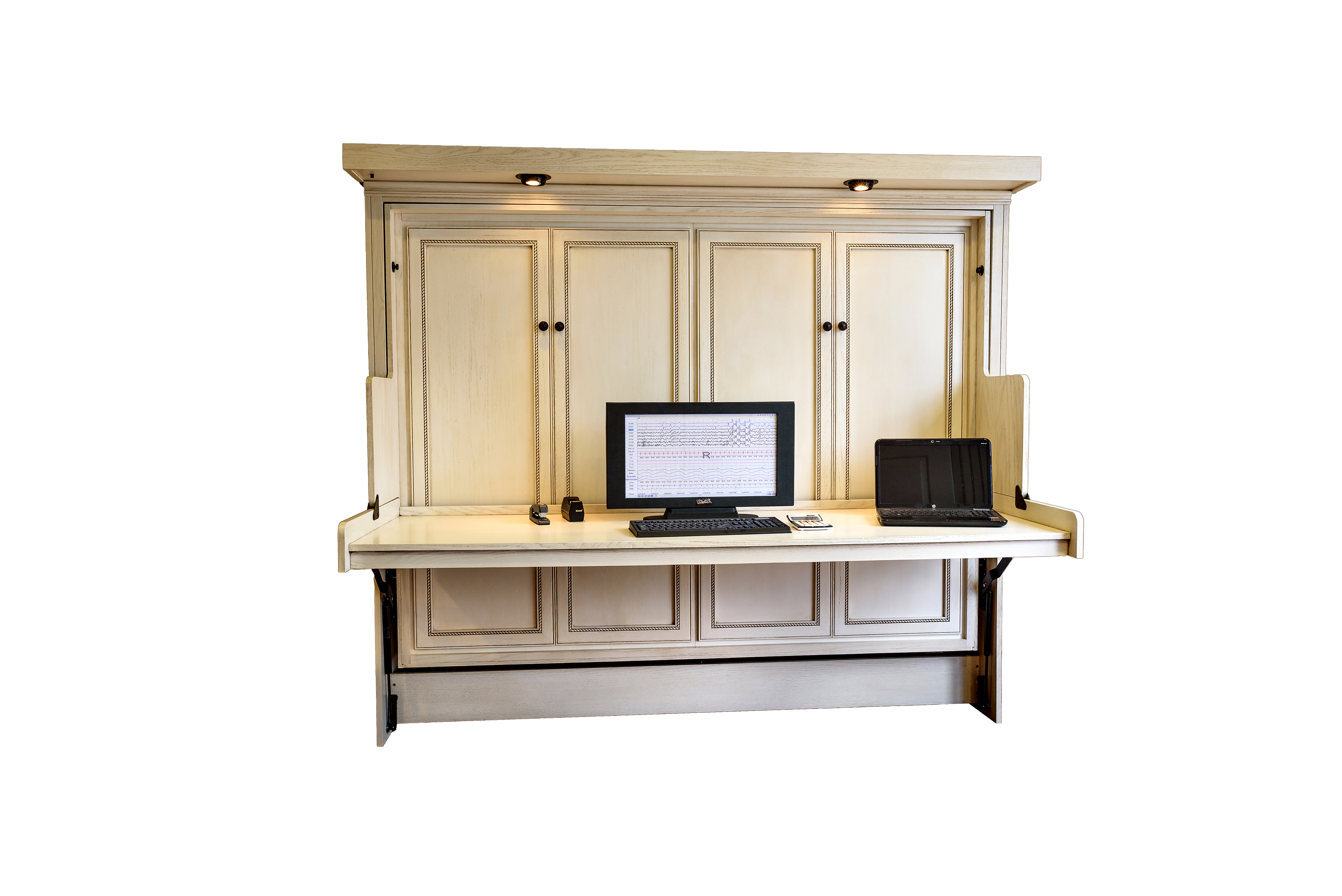 Murphy Bed Desk Hide Away Desk Bed | Wilding Wallbeds