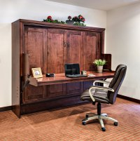 Hide Away Desk Bed | Wilding Wallbeds