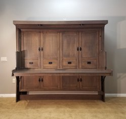 Small Of Murphy Bed With Desk