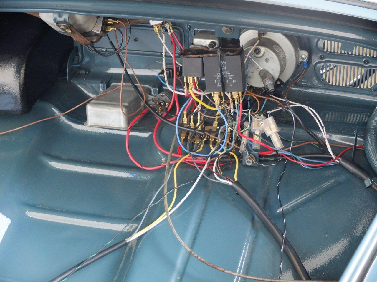 vw super beetle wiring harness