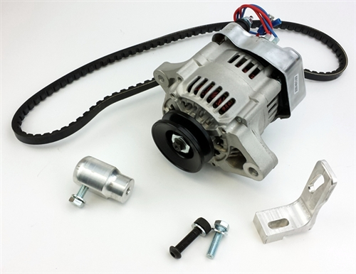 12V Alternator Kit, 55 Amp Alternator, Type 3 Engines (Squareback
