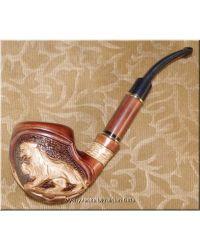 Unique Ukrainian Tobacco Smoking Pipe - Cat Paw