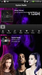 Vyzion Radio App