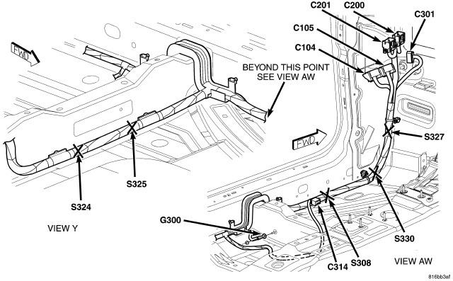 wire diagram for door on 2006 chrysler 300