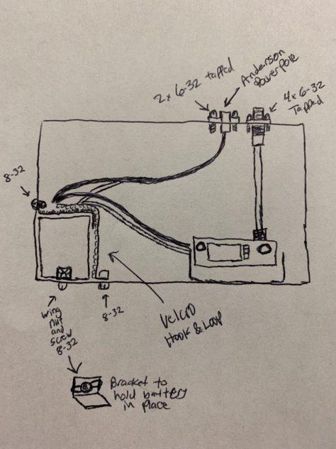 Inside diagram of the Go Box