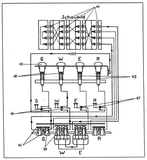 enigma machine wiring diagram