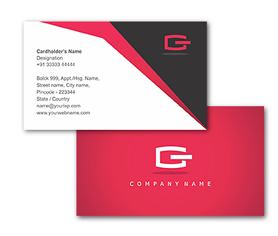Business Card Design for Digital Marketing Services Offset or