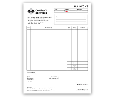Online bill book printing, Upload or use free bill book designs to