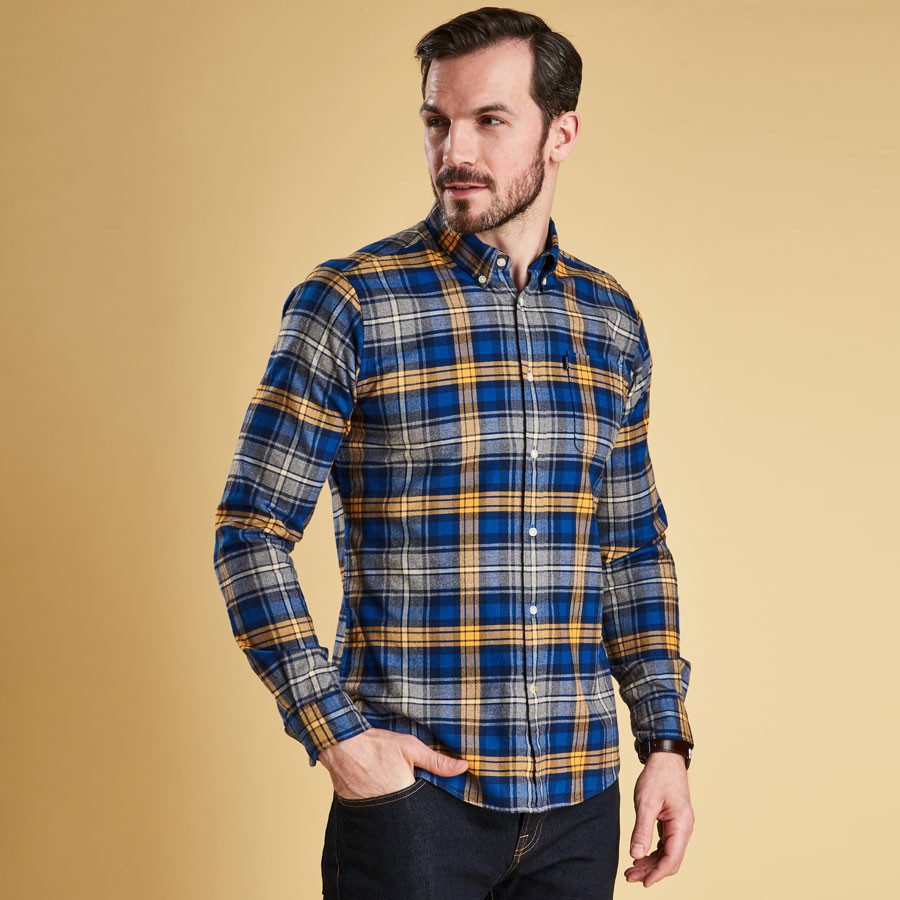 Plaid Tres Chaud Barbour Mustard Endsleigh Shirt