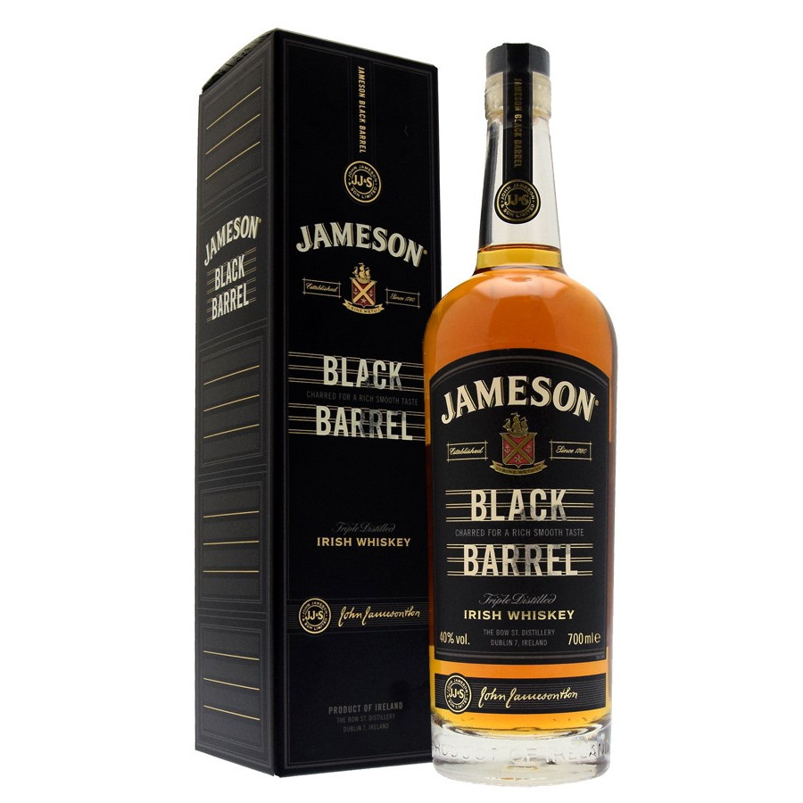 Couleur Chene Champagne Whiskey Jameson Black Barrel 70cl 40