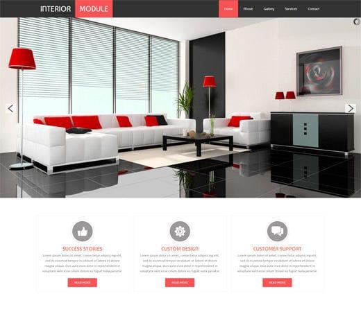 33 Interior Design amp; Decorating Agency Websites DesignMag - interior design web template