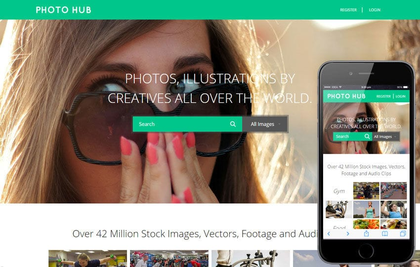 Photo Hub a Photo gallery Flat Bootstrap Responsive Web Template by