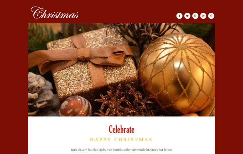 Christmas a Newsletter Responsive Web Template - w3layouts - christmas template free