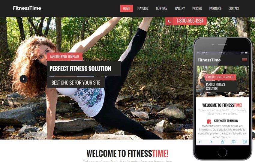 Fitness Centres - w3layouts - Fitness Templates Free