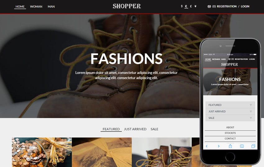 Shopper a Flat Ecommerce Bootstrap Responsive Web Template by w3layouts