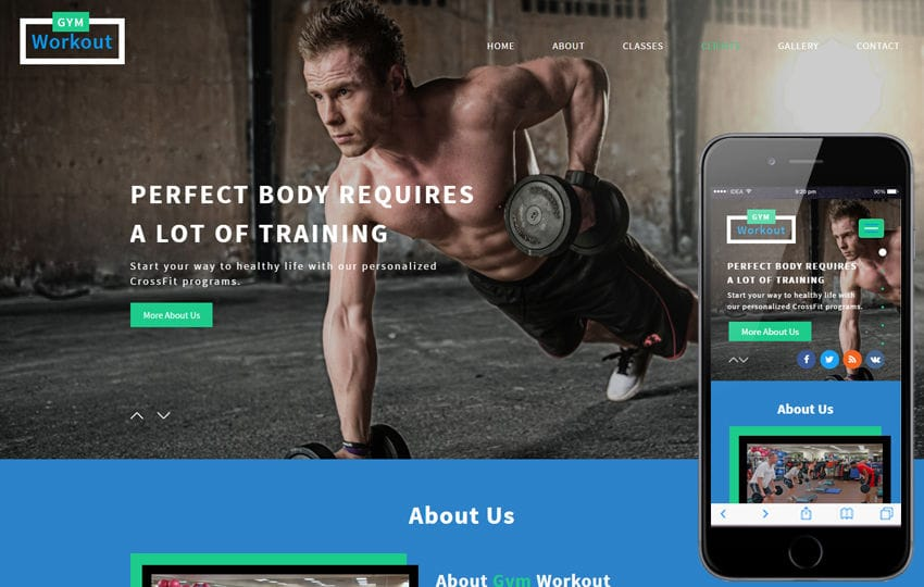 Fitness - w3layouts - Fitness Templates Free