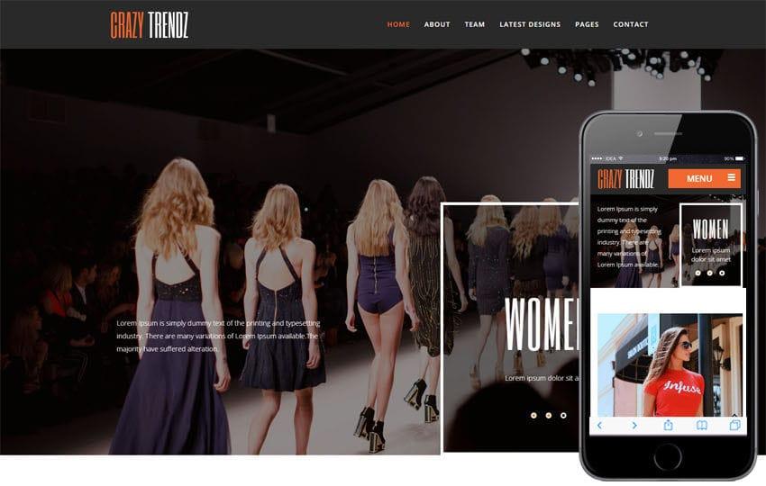 Fashion Templates - w3layouts - fashion template