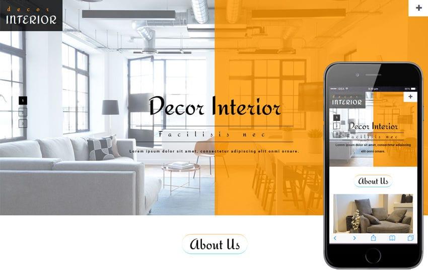 Interior - w3layouts - interior design web template