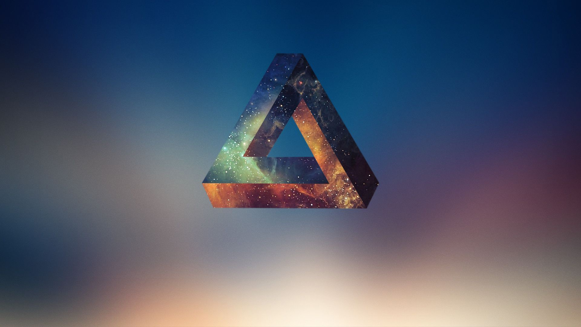 Wallpaper Illusion 3d Penrose Triangle Geometry Abstract Wallpaper 117492