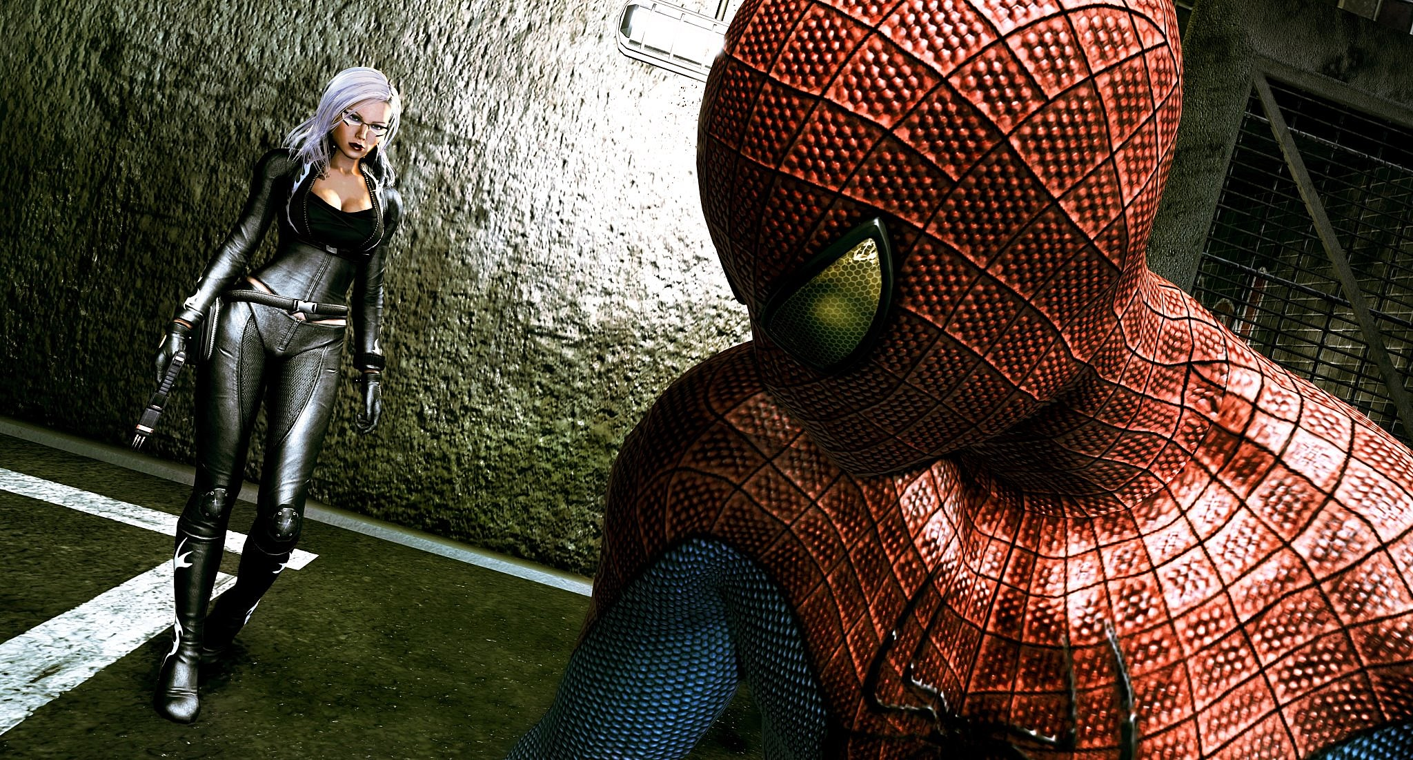 Spiderman Games The Black Cats The Amazing Spider Man Game Look Revealed