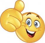 Emoji Thumbs Up Smiley Face