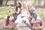 Luke Bryan Wife Wedding Dress