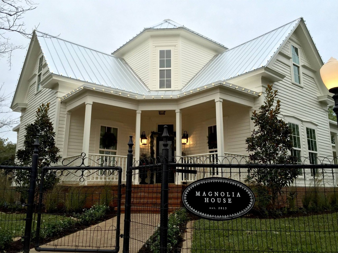 B&b Houses Magnolia House | Waco & The Heart Of Texas