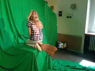 Filmarbeiten im Jubb