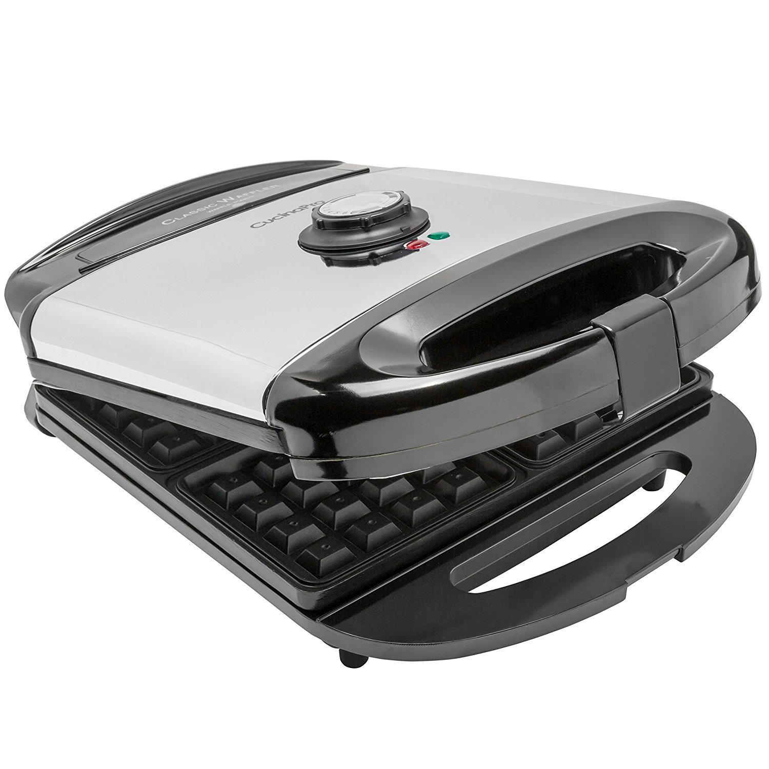 Amazon Cucinapro Best 4 Slice Waffle Makers Wafflemakershub