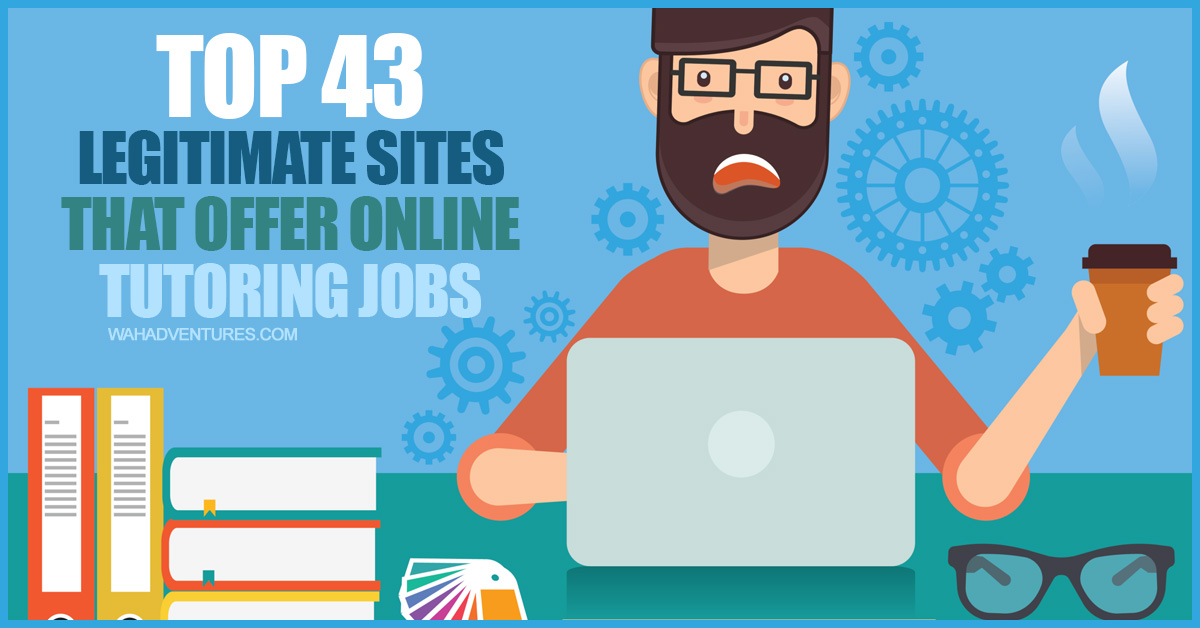 43 of the Best Online Tutoring Jobs to Make Money from Home