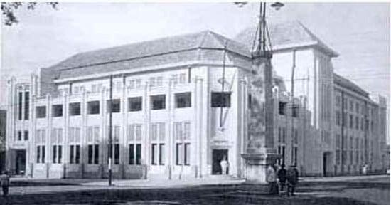 Gedung BNI 1946 tahun 1925 Foto Foto Kota Jogja Tempo Doeloe