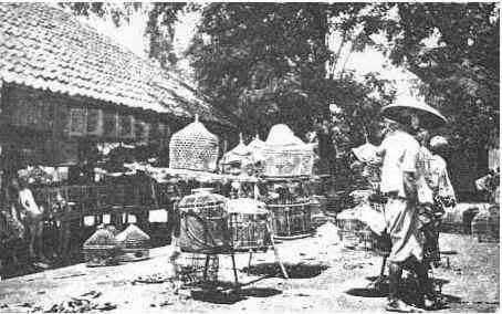 Pasar Ngasem tahun 1809 Foto Foto Kota Jogja Tempo Doeloe