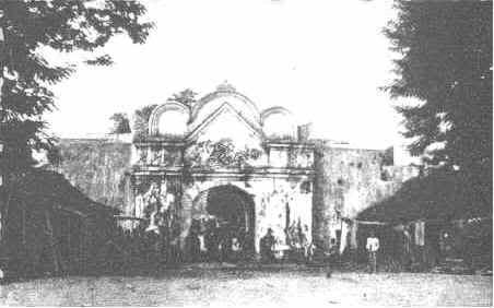 Plengkung Ngasem tahun 1809