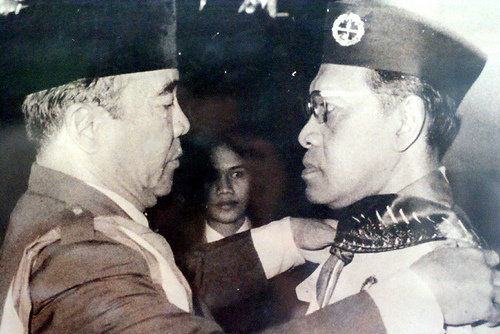 Soekarno dan Sri Sultan Hamengku Buwono IX