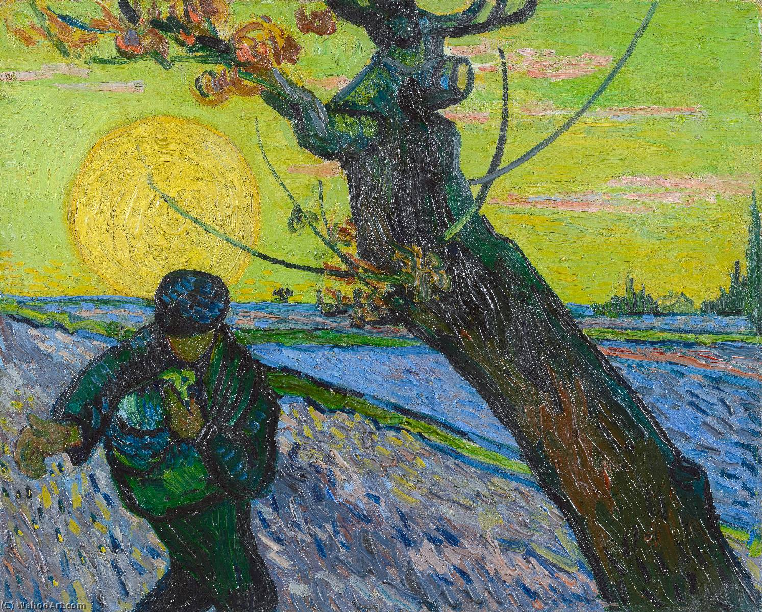 Vang Gogh Cuadros The Sower 1888 By Vincent Van Gogh 1853 1890 Netherlands Oil