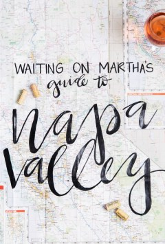 Guide to Napa Valley, Waiting On Martha
