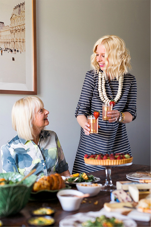 Celebrating Mother's Day with @jmclaughlin and a brunch to end all brunches. | Via @WaitingOnMartha #JMcLcolorwheel #ad