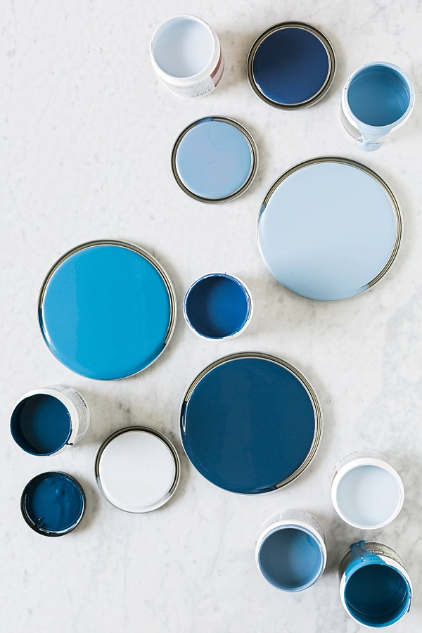 Picking the Perfect Blue Paint, @waitingonmartha