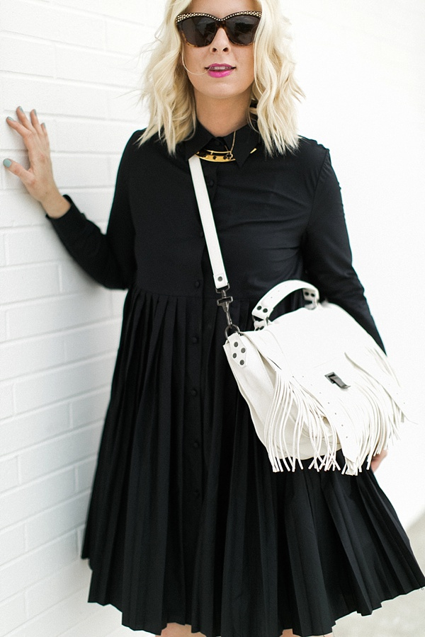 Black everyday dress from Hampden Clothing, Waiting on Martha