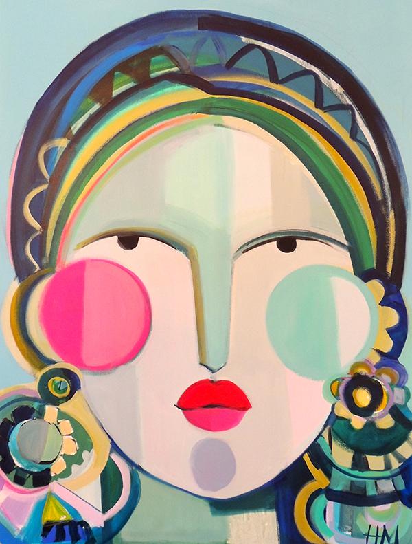Hayley Mitchell abstract art