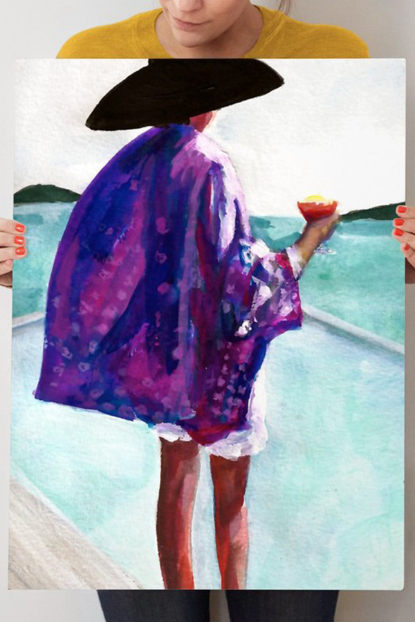 """""""Purple Kimono"""""""