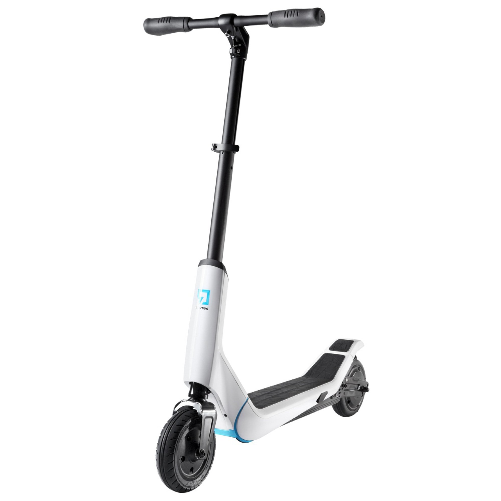 E On Electric Citybug 2 Electric Scooter White Wake2o Co Uk