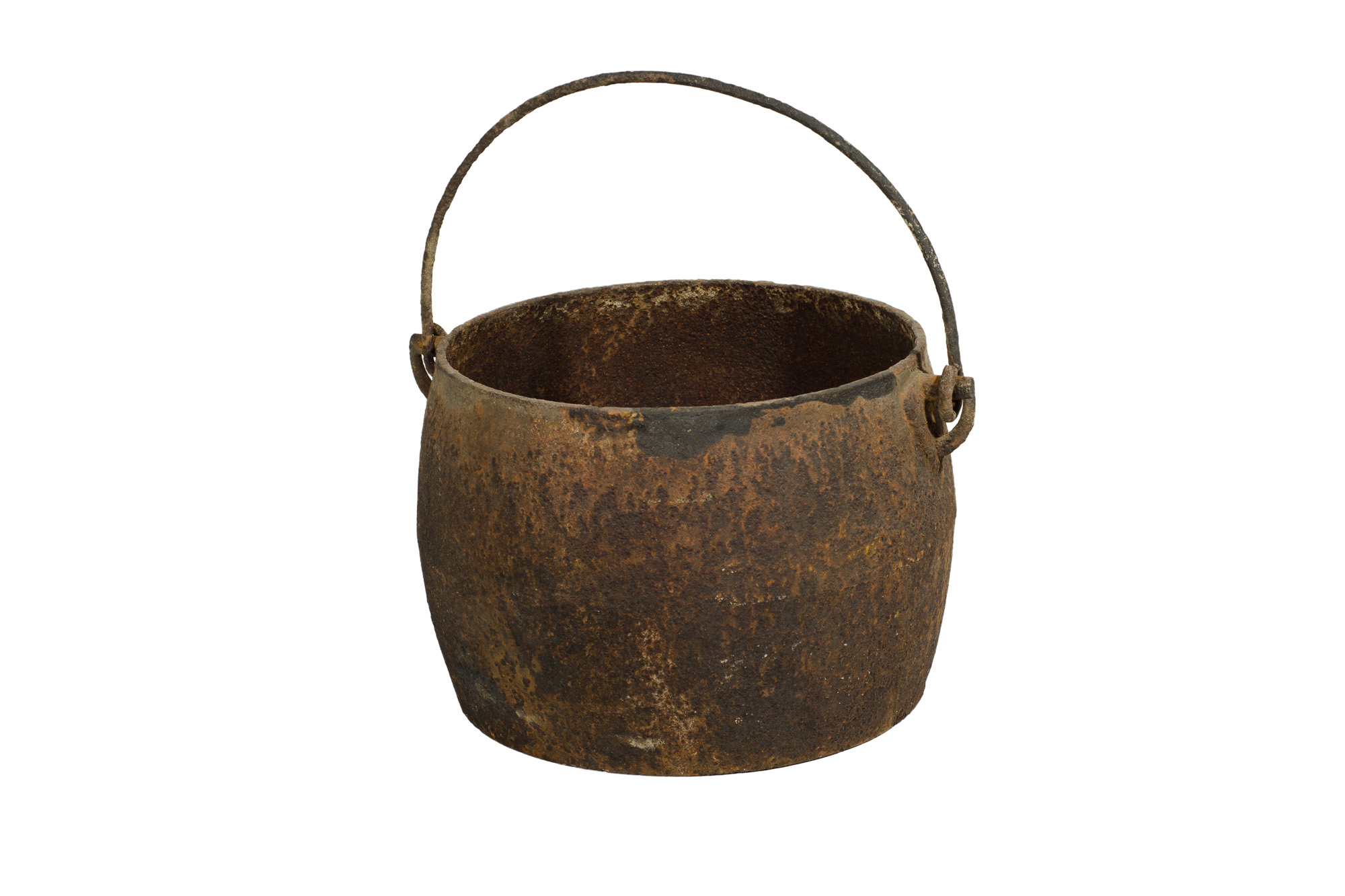Cast Iron Pot Antique Cast Iron Pot With Handle