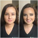 Todays bridal trial client Skin and brows to die for